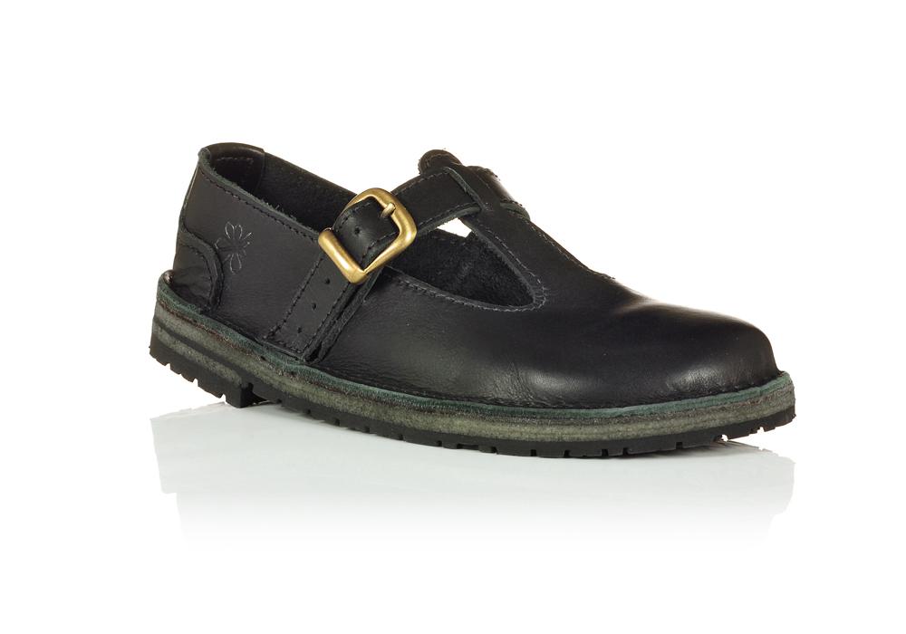 bd95c967a371 Handmade School T-bar - Conker Shoes