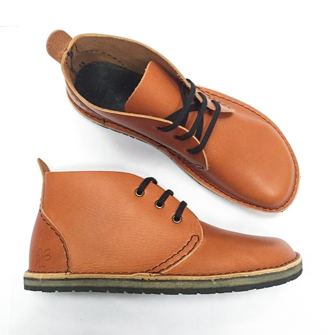 Barefoot Leather Shoes - Handmade In